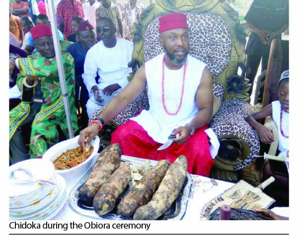 Obiora new yam festival chidoka seeks promotion of igbo culture obiora new yam festival chidoka seeks promotion of igbo culture m4hsunfo