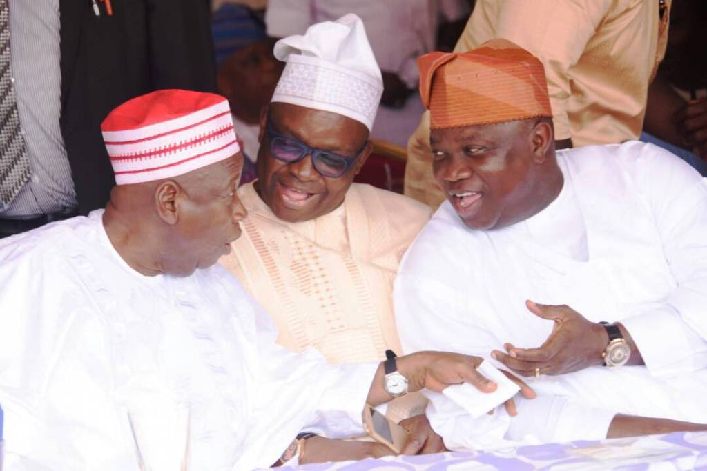 Pics: Osinbajo, Ambode, others at 8th day Fidau prayer for Aregbesola's mother – - The Sun News ...