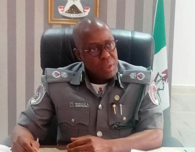 Image result for Nigeria Customs Service, Comptroller Bashir Abubakar