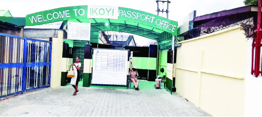 Image result for Ikoyi Passport Office