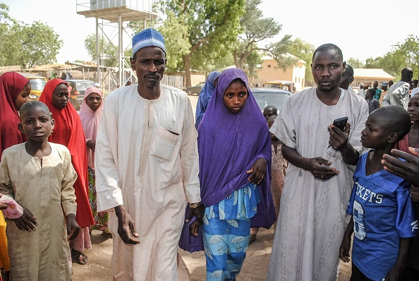 JUST IN: Released Dapchi Girls Moved To Maiduguri En Route