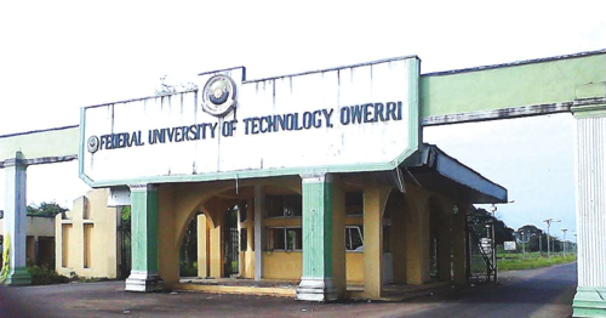 Image result for Federal University of Technology, Owerri