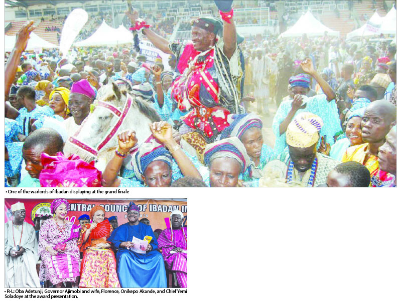 Ibadan festival of  colour, glitz, glamour