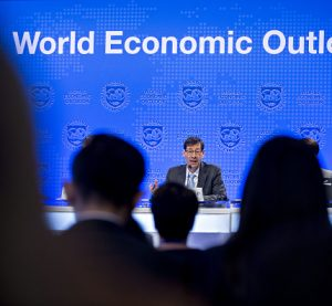 (((Maurice Obstfeld))) chief economist IMF, debtor countries at RISK