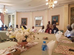 PDP visits IBB in Minna