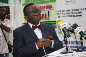 Minister of HEALTH Isaac Adewole