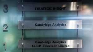 The London headquarters of Cambridge Analytica.Facebook