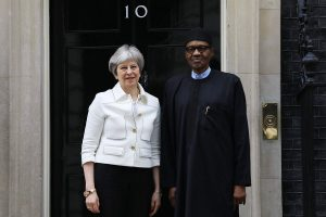 MAY BUHARI LONDON