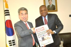 Orji Uzor Kalu, South Korea Ambassador to Nigeria