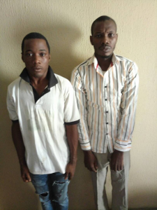 Police arrested suspects threatening KIDNAP