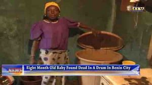 Baby DROWNED Benin City