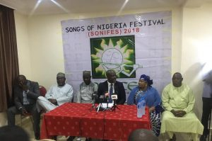 SONGS OF NIGERIA FESTIVAL