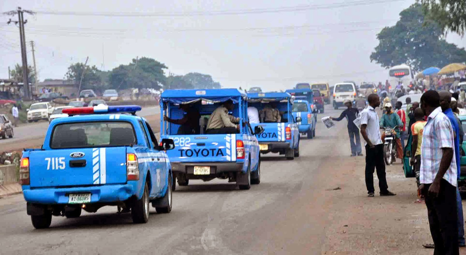 Be alert, efficient,while discharging duties, Olagunju urge FRSC officers