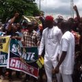 ANAMBRA YOUTH PROTEST SENATE - SUPPORT IGP IDRIS
