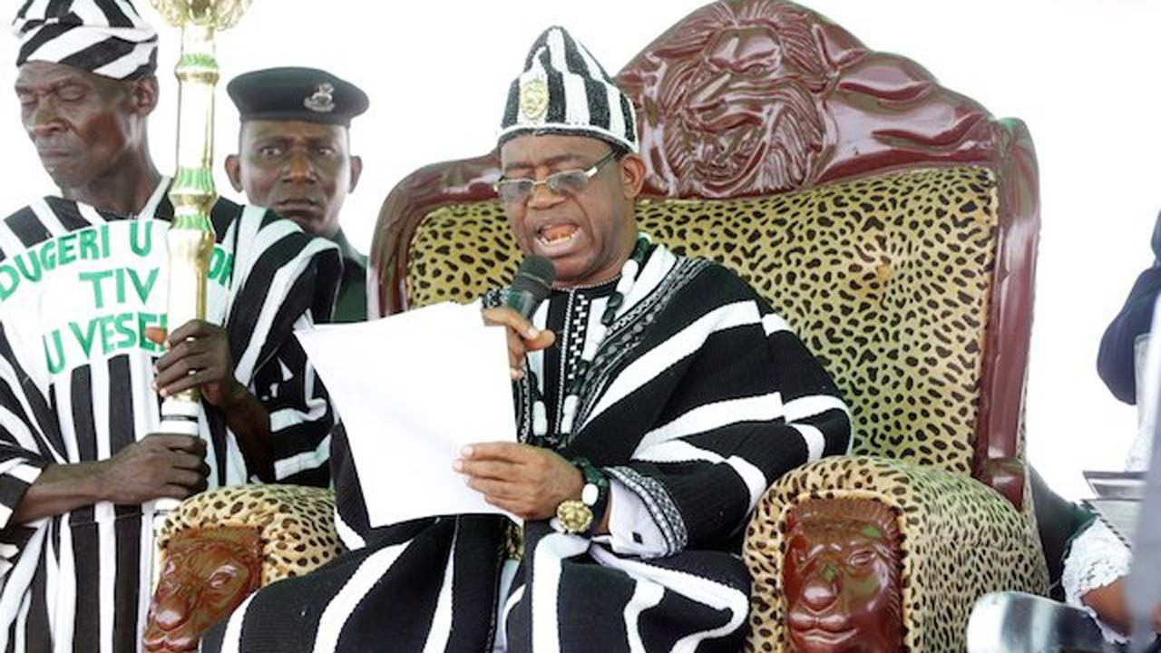 Repent or be cursed, Tor Tiv warns troublemakers
