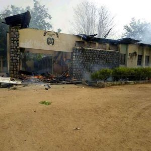 NINGI SECRETARIAT BURNT