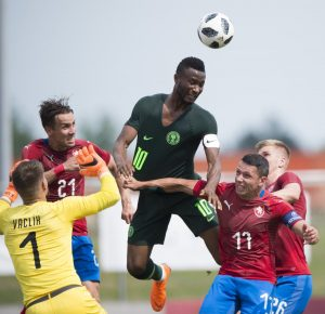 WORLD CUP FRIENDLY - NIGERIA'S SUPER EAGLES V. CZECH REPUBLIC