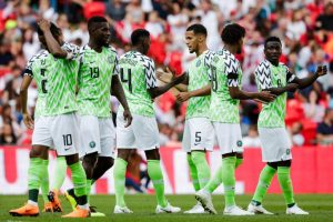 RUSSIAN FANS SUPER EAGLES