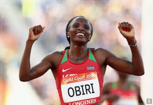 HELLEN OBIRI - ATHLETICS