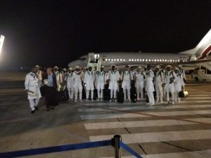 SUPER EAGLES FLY OUT OF MOSCOW