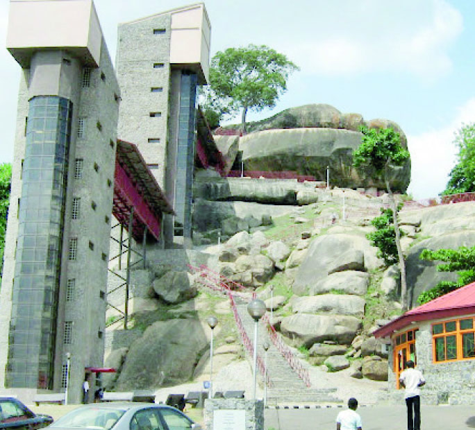 Image result for olumo rock ogun state