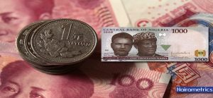 CURRENCY SWAP - NAIRA - RENMINBI