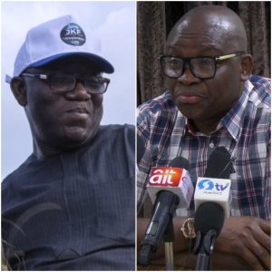EKITI ELECTION - FAYEMI - FAYOSE