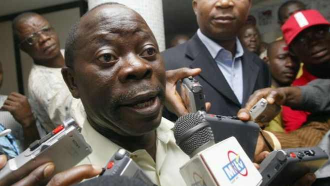 Oshiomhole threatens to sack ministers from APC