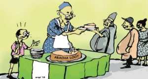 ABACHA LOOT REDISTRIBUTION - FG CATCHES FLAK