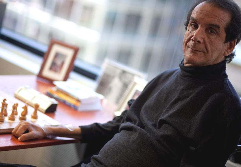 Charles Krauthammer, doctor and writer
