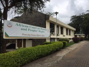 STELLA ANUKAM - AFRICAN COURT ON HUMAN AND PEOPLE'S RIGHTS