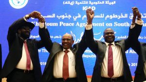 SUDAN - SOUTH SUDAN - CEASEFIRE