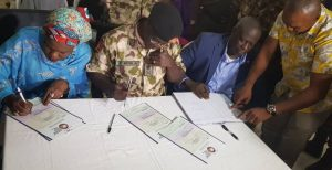 Military releases 184 underage BOKO HARAM SUSPECTS