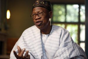 MINISTER LAI MOHAMMED - VICTORY