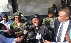 Ekiti guber: 2 arrested as police uncover illegal PRINTING PRESS in Lagos