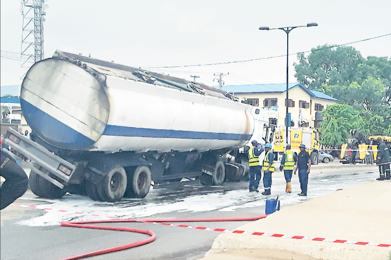 Another tanker tragedy averted in Lagos