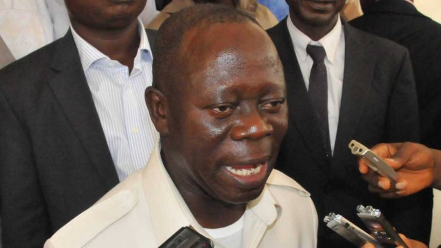 Do I look like I'm losing sleep? Oshiomhole asks PDP
