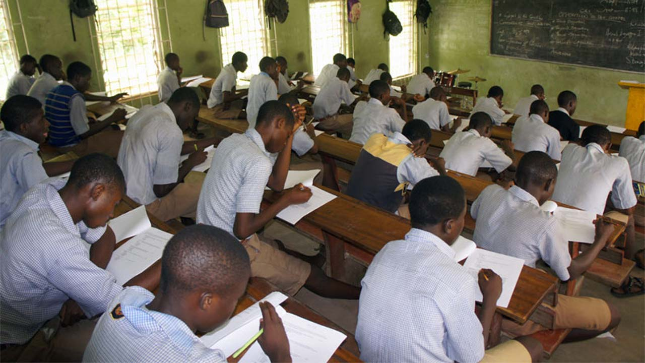 NECO Students. Photo: The Sun Nigeria