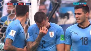 World Cup Confidential: Jose Gimenez cries before full time as Uruguay eliminated