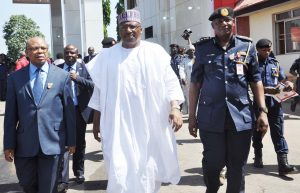 DAMBAZAU, MINISTER OF THE INTERIOR, SECURITY CHALLENGES