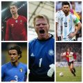TOP FIVE - NEVER LIFTED - WORLD CUP