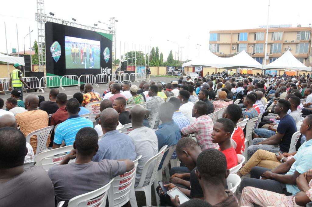 World Cup: Lagos fans evoke experiences at Gov. Ambode's viewing ...
