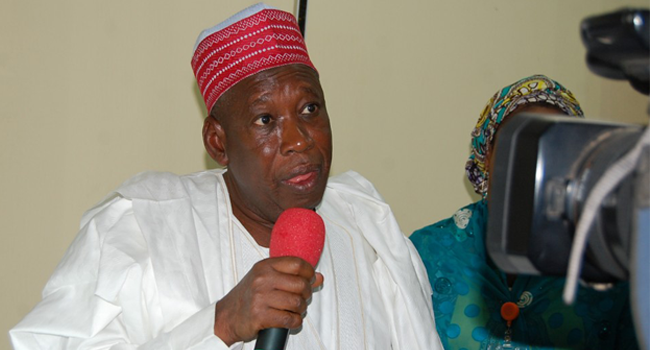 Ganduje proposes N219b budget for Kano in 2019
