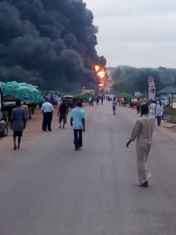 3 burnt to death in Kogi accident