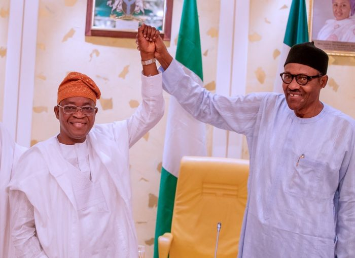 Image result for Osun election: Buhari congratulates APC, Oyetola