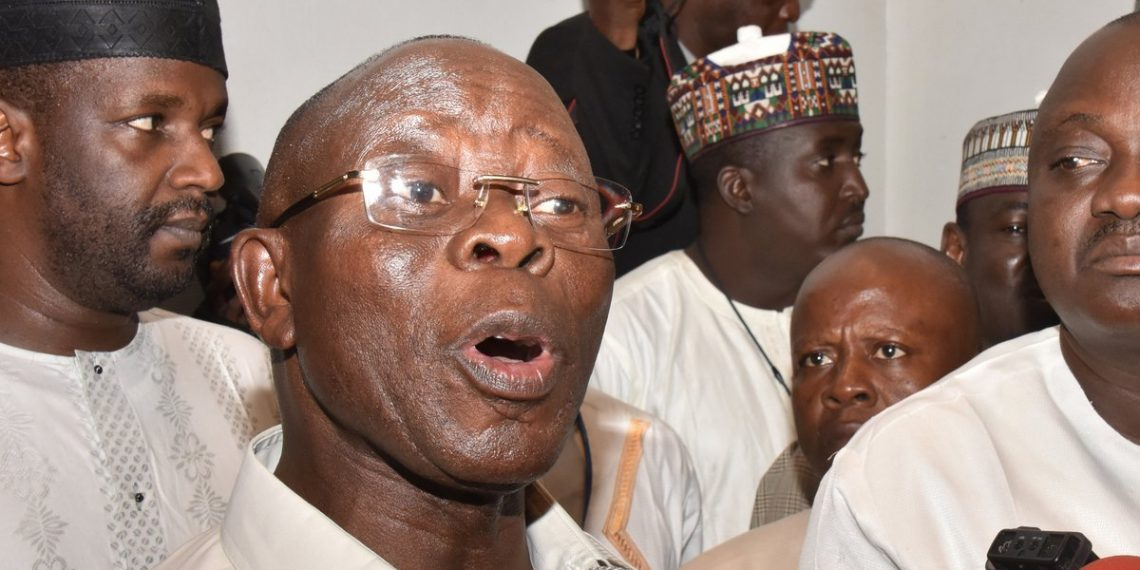 Aftermath of primaries: Oshiomhole alleges plot, gang up