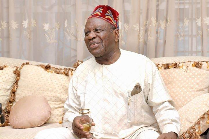 Obong Victor Attah, Ex Governor, Akwa Ibom State. Photo: The Sun