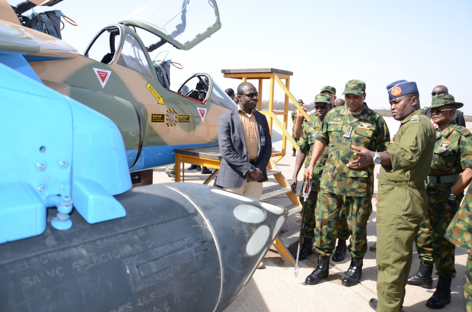 Air force bombards terrorists' camps