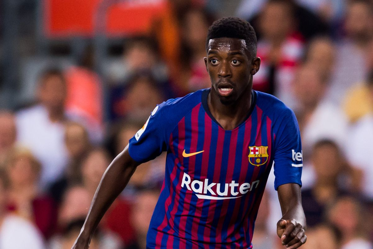 Dembele could leave Barcelona in £89m deal