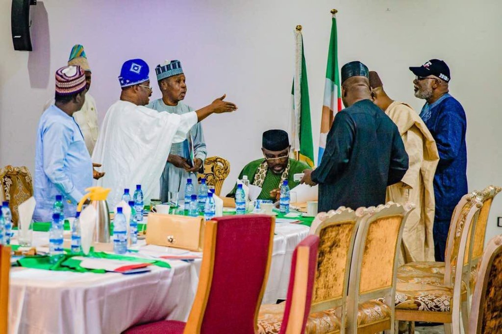 Governors meet over minimum wage, others